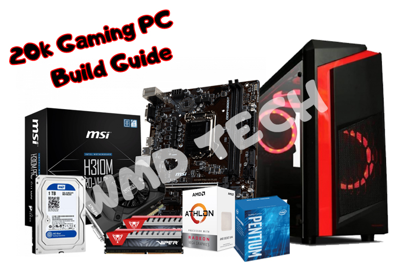 Budget Gaming PC Build Guide (20k+ PHP) - WMD Tech