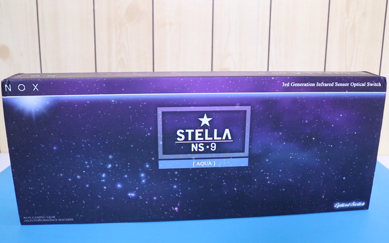 NOX STELLA NS9 Optical Switch Gaming Keyboard Review - WMD Tech