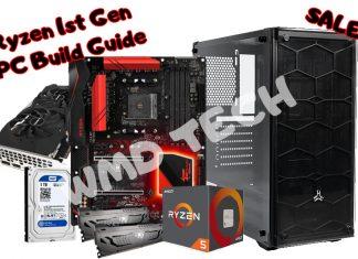 Ryzen 1st Gen PC Build
