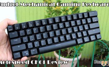 Motospeed CK61 Mechanical Gaming Keyboard Review