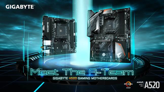 gigabyte a520 motherboard